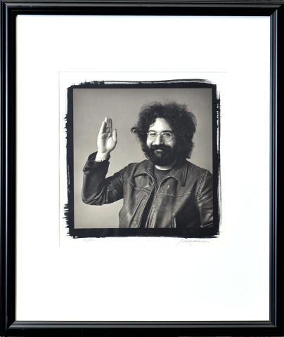 Jerry Garcia Framed Fine Art Print
