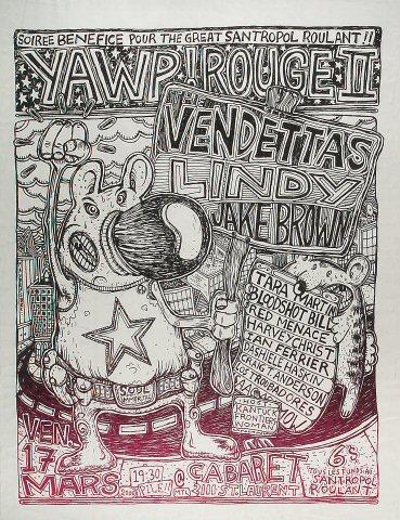 The Vendettas Poster