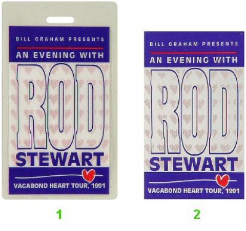Rod Stewart Laminate
