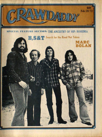 Crawdaddy Magazine February 20, 1972