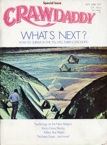 Crawdaddy Magazine April 1973