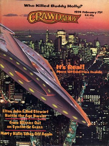 Crawdaddy Magazine February 1974