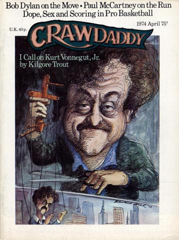 Crawdaddy Magazine April 1974