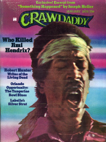 Crawdaddy Magazine January 1975