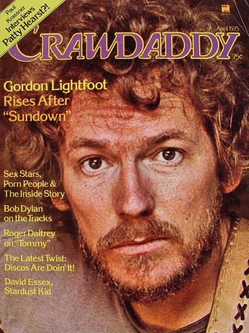 Crawdaddy Magazine April 1975