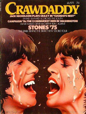 Crawdaddy Magazine July 1975