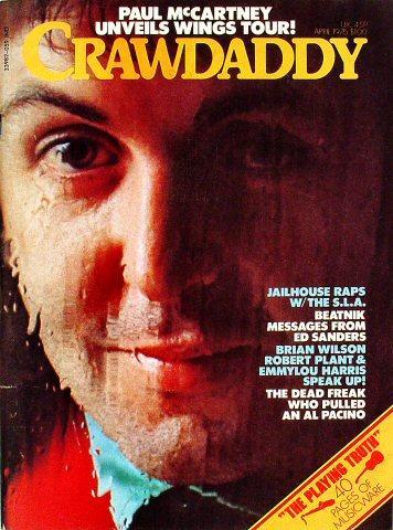 Crawdaddy Magazine April 1976