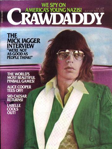 Crawdaddy Magazine August 1976