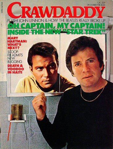Crawdaddy Magazine December 1976