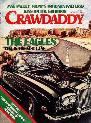 Crawdaddy Magazine April 1977