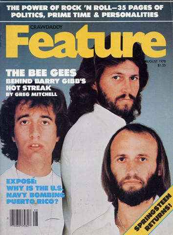 Crawdaddy Magazine Feature August 1978