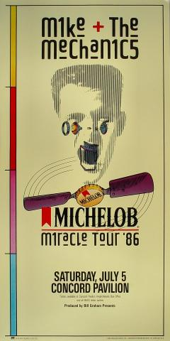 Mike and the Mechanics Poster