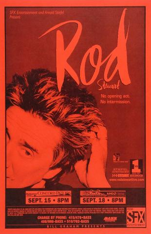 Rod Stewart Poster