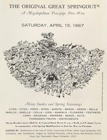 The Original Great Springout Handbill