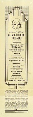 Grand Funk Railroad Handbill