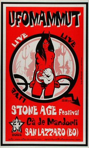 Stone Age Festival Poster