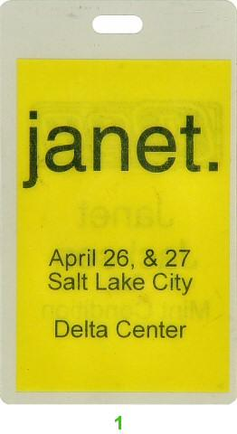 Janet Jackson Laminate