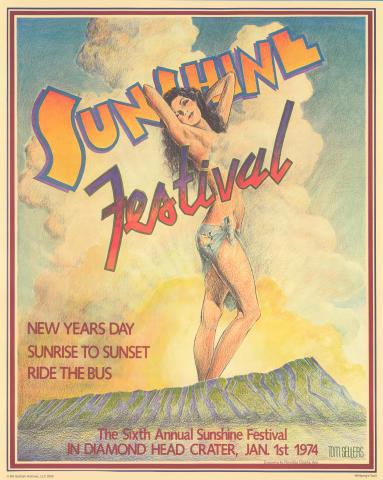 Sixth Annual Sunshine Festival Poster