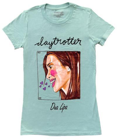 Dua Lipa Women's Vintage Tour T-Shirt