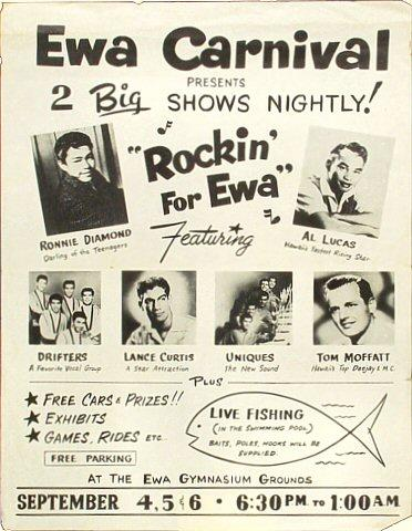 Ronnie Diamond Handbill
