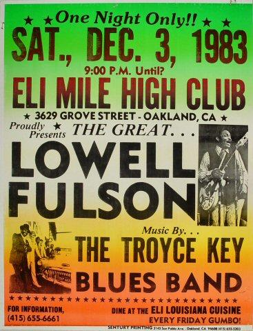 Lowell Fulson Poster