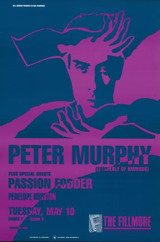 Peter Murphy Poster