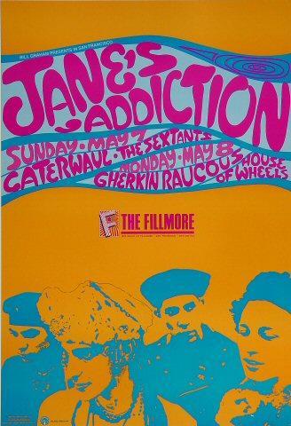 Jane's Addiction Poster