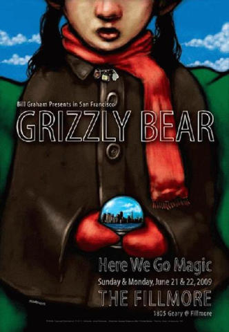 Grizzly Bear Poster