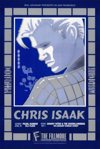 Chris Isaak Poster