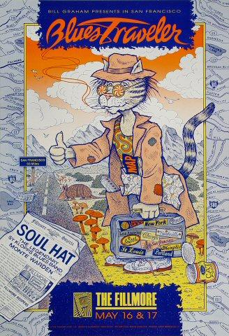 Blues Traveler Poster