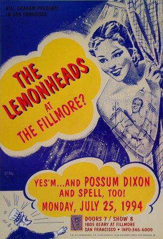 The Lemonheads Poster
