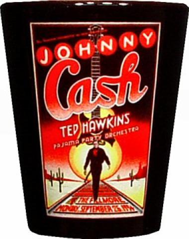 Johnny Cash Shotglass
