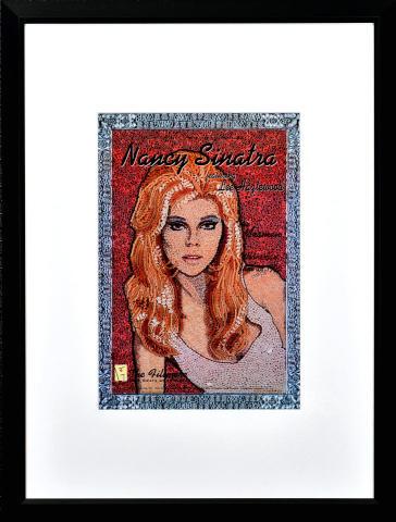 Nancy Sinatra Framed Poster