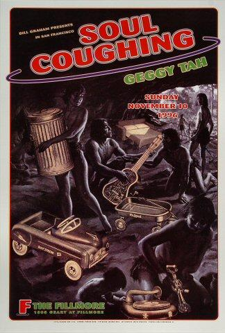 Soul Coughing Poster