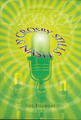 Crosby, Stills & Nash Poster