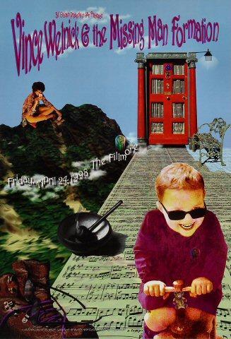 Vince Welnick Poster