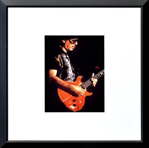 Carlos Santana Framed Fine Art Print