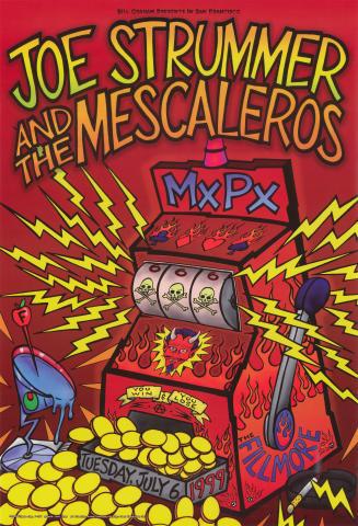 Joe Strummer & The Mescaleros Poster