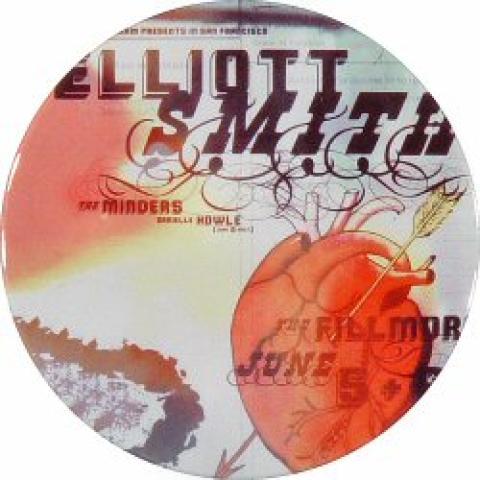 Elliott Smith Pin
