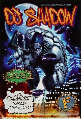 DJ Shadow Poster