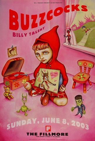 Buzzcocks Poster
