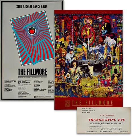 Fillmore Commemorative Poster/Ticket Set