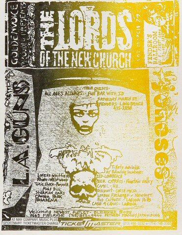 Lords of the New Church Handbill