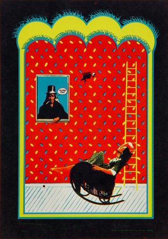 Genesis (60's) Postcard