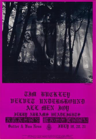 Tim Buckley Poster
