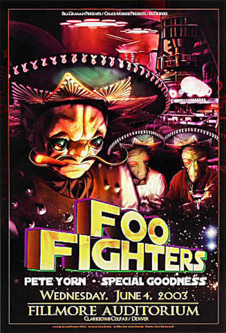 Foo Fighters Poster