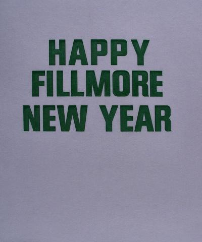 Happy Fillmore New Year Pellon