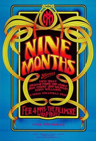 Nine Months Poster