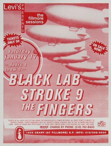 Black Lab Handbill