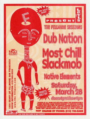 Dub Nation Handbill